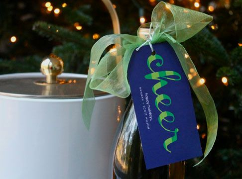 gift tag | cheers