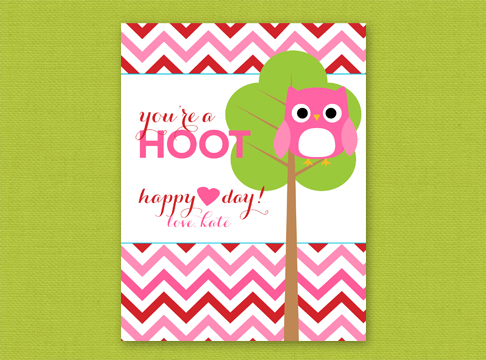 valentine | you are a hoot
