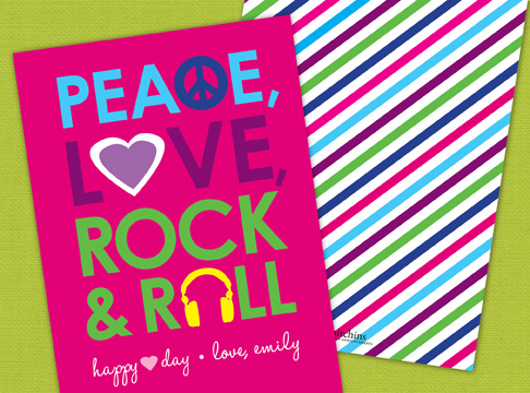valentine | peace, love, rock & roll
