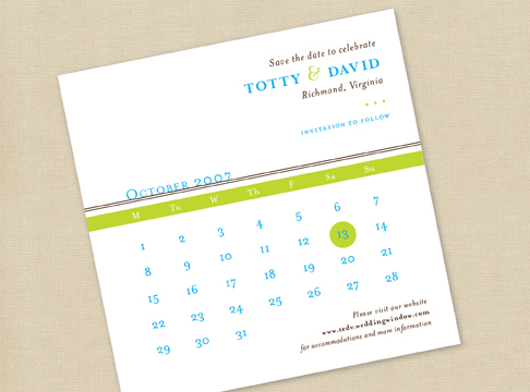 totty + dave  |  save the date
