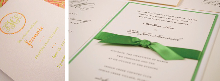 Anne Hitchins Custom Invitations and Announcements